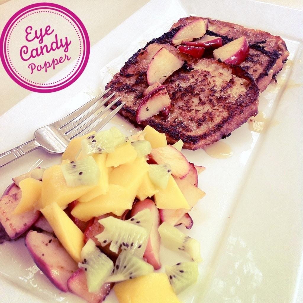 Vegan French toast - Eyecabdypopper.com