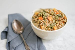 Simple 3 Lentil Soup | Vegan, Gluten-Free
