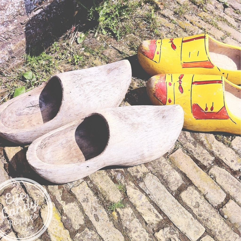 wooden shoes in Holland