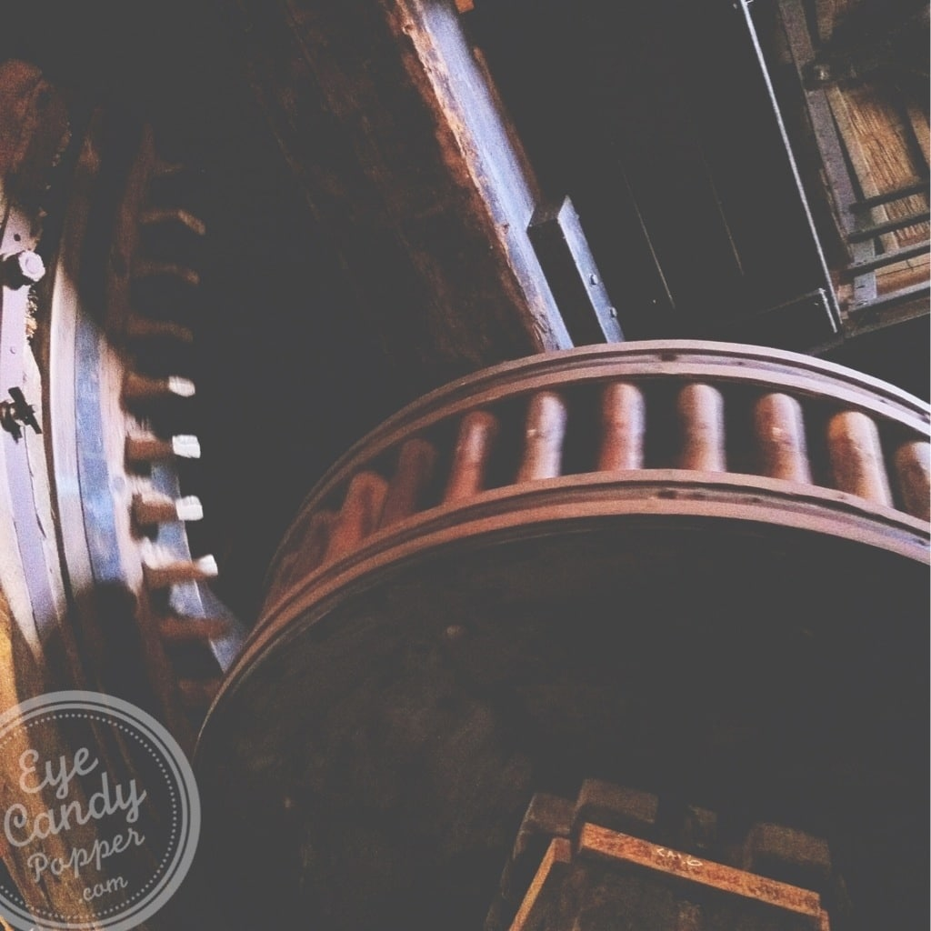 inside of mechanical room windmill