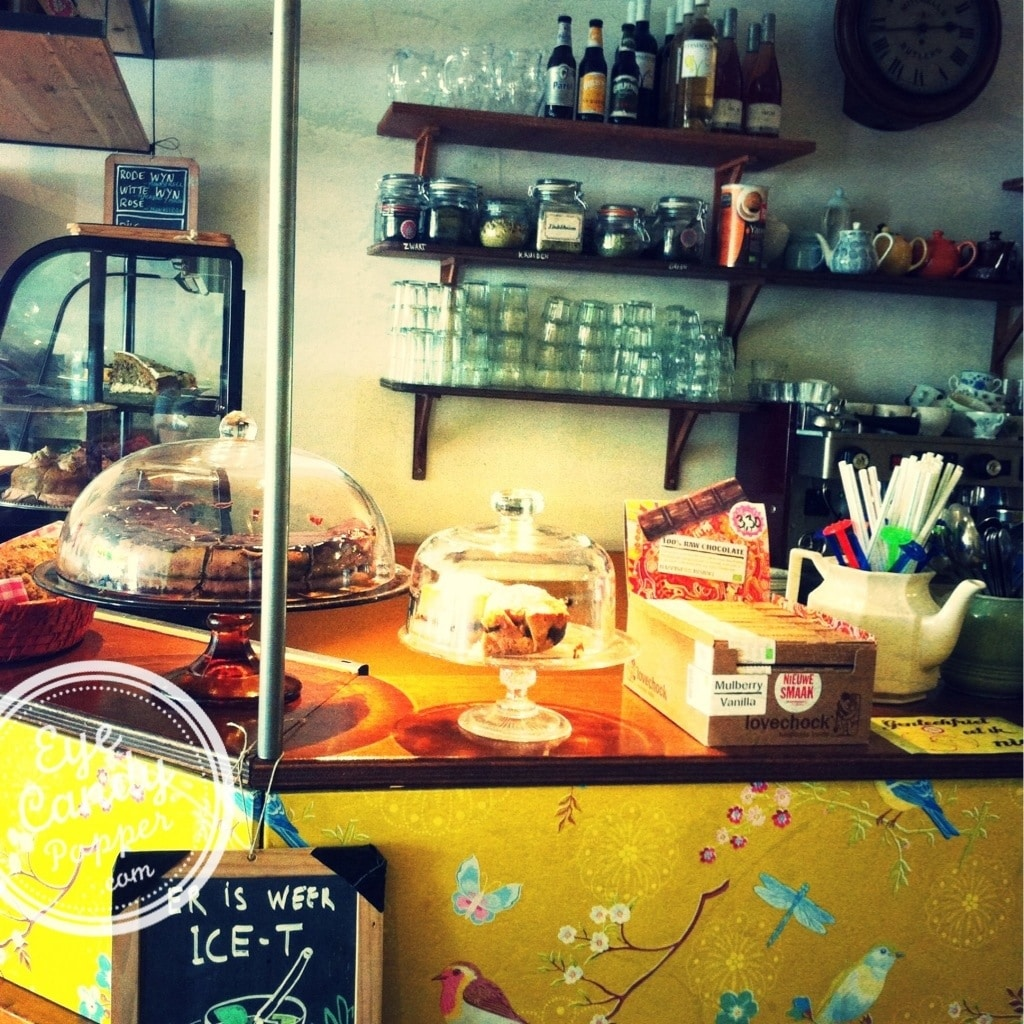 organic cafe in The Hague