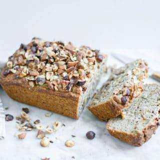 Gluten-Free Maple Banana Bread   Vegan, Refined Sugar-Free