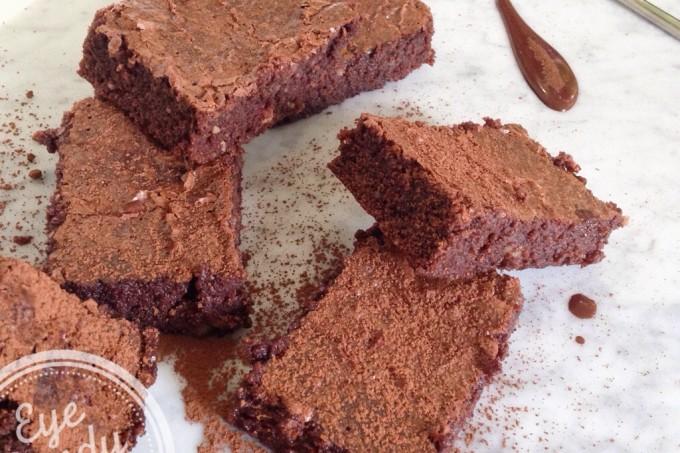 brownies hyper sante (sans lait, sans sucre, sans gluten)