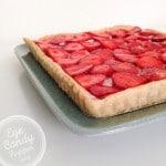 Strawberry + Chèvre Tart