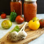 Oven-Roasted Heirloom Vegetable Spaghetti Sauce & How To Preserve It (vegan, gluten-free)