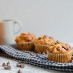 Healthy Pumpkin Chocolate Chip Muffins | Dairy-Free, Vegan + GF Options