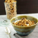 Homemade Peanut Butter Granola (vegan, gluten-free, peanut-free option)