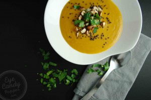 Thai inspired Sweet Potato Soup (vegan, paleo, gluten-free)