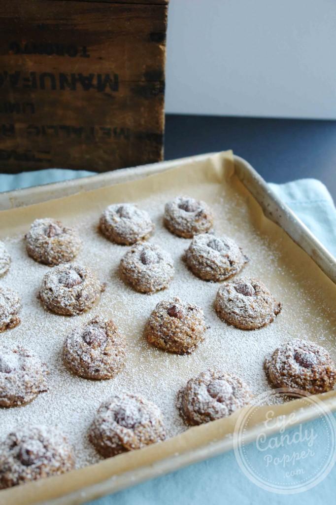 5 Ingredient Hazelnut Cookies (vegan, gluten-free, paleo, sugar-free)