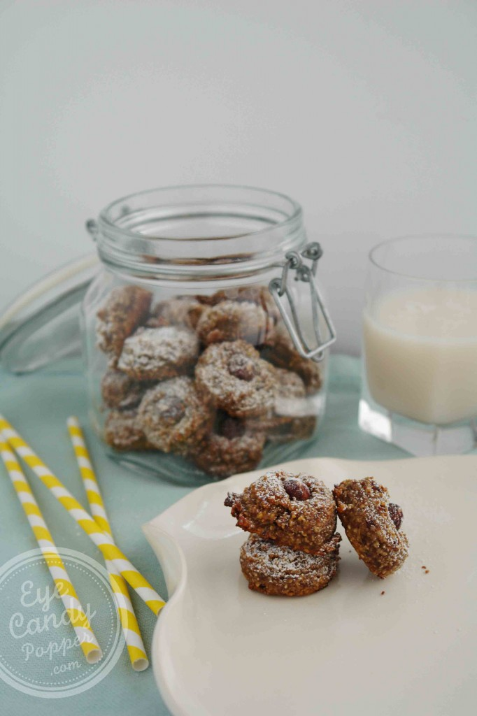 5 Ingredient Hazelnut Cookies (vegan, gluten-free, paleo, sugar-free)