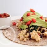 Meatless Monday: Breakfast Burrito (vegetarian)