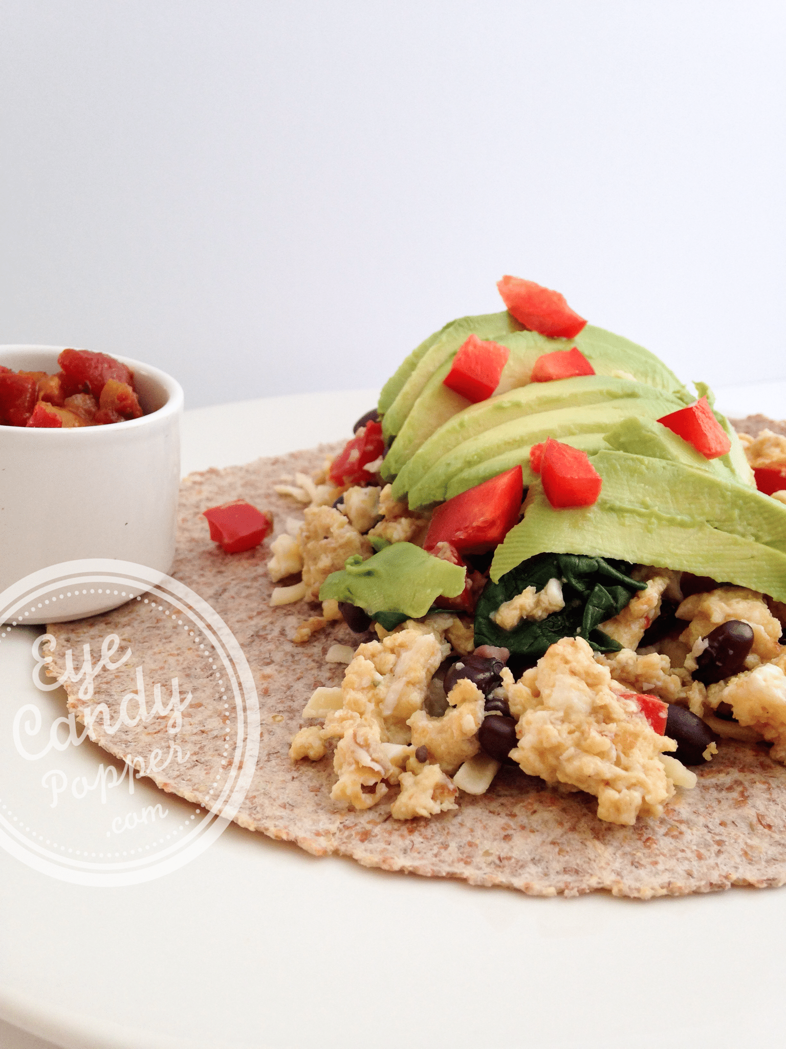 Meatless Monday: Breakfast Burrito (vegetarian)