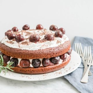 Healthy Chocolate Cake and Whipped Coconut Icing   Dairy-Free, Soy-Free, Low Sugar, Wholegrain