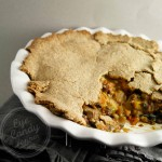 Rustic vegetable pot pie