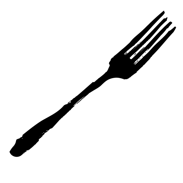 Drawing of a fork