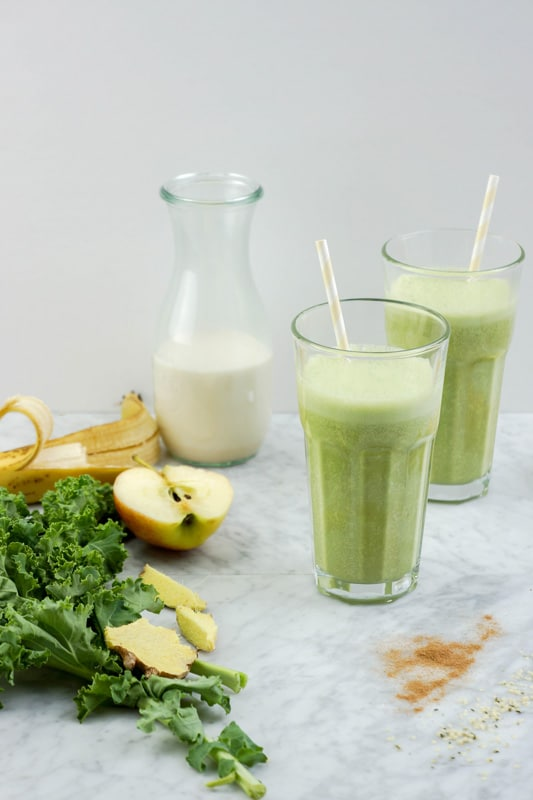 Healthy Apple Pie Smoothie