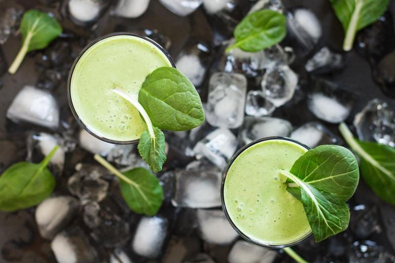 Greek Yogurt Green Smoothie by Green Healthy Cooking