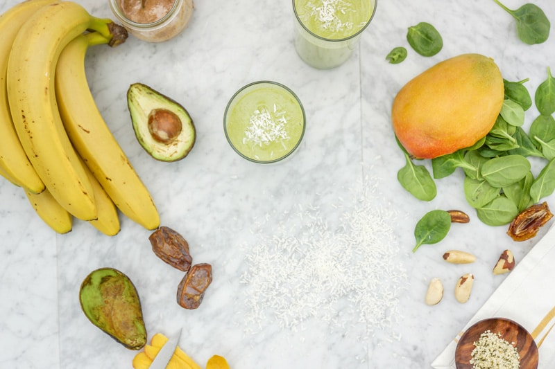 Mango Coconut Smoothie With a Twist