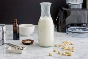 How to make cashew whole milk