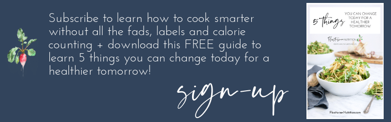 Subscribe to Flexitarian Nutrition to get a free guide!