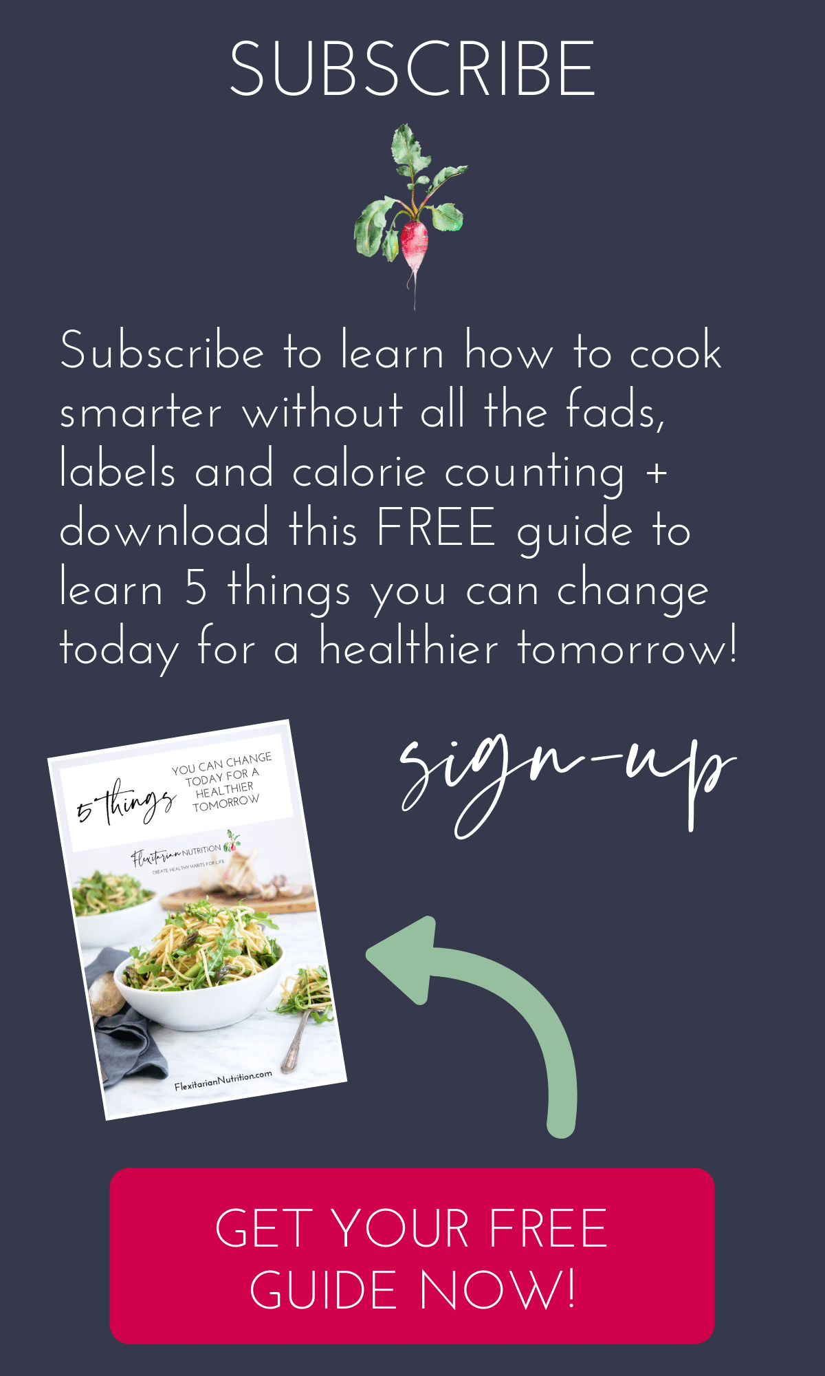 Subscribe to get my free eBook