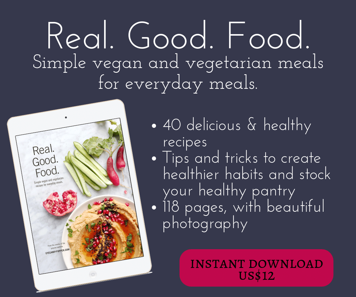 Real. Good. Food. cookbook on iPad